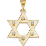Simple Star of David Pendant