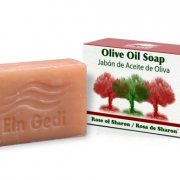 Traditional Olive Oil Soap - Rose of Sharon