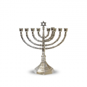 Menorah in Classic Antique Design