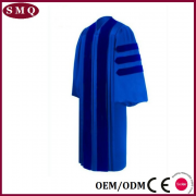Doctoral academic graduation gown
